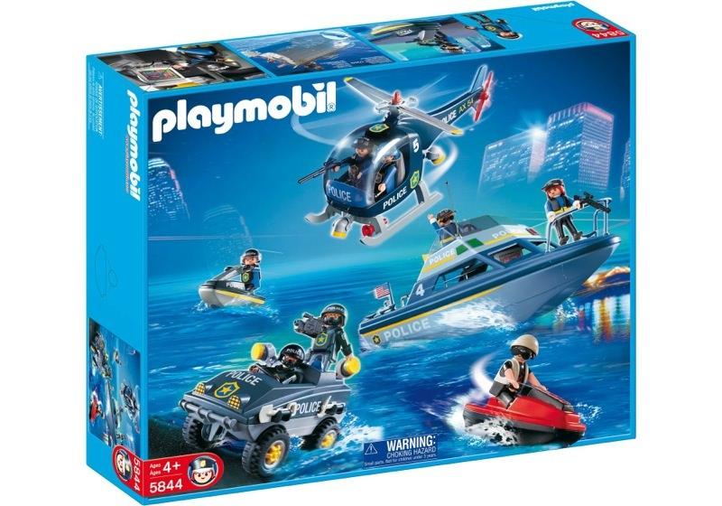 Playmobil 5844-usa - Mega Police Set - Box
