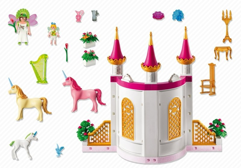 Playmobil 5873 - Fairytale Castle - Back