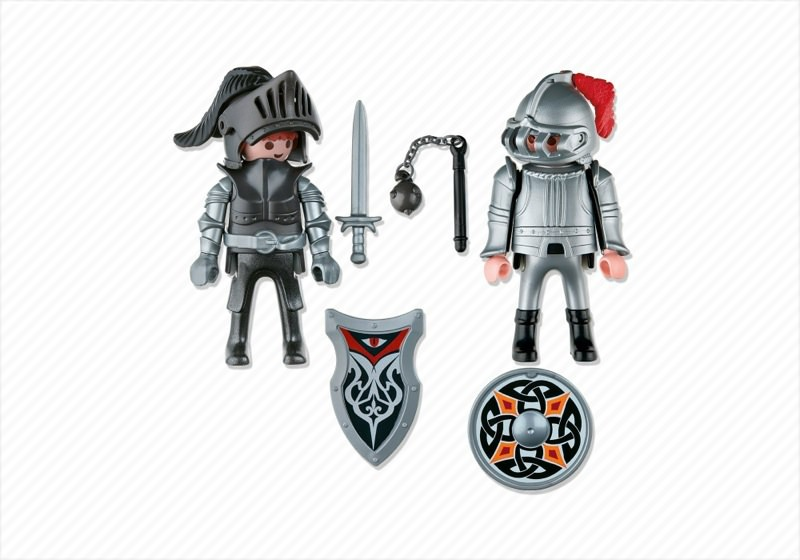 Playmobil 5886 - Iron Knights Duo Pack - Back