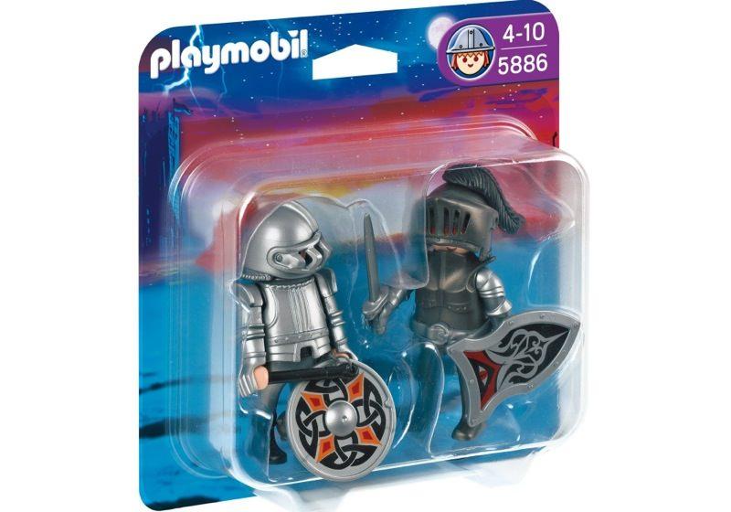 Playmobil 5886 - Iron Knights Duo Pack - Box