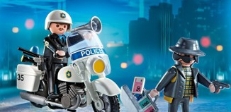 Playmobil - 5891-usa - Carrying Case Police