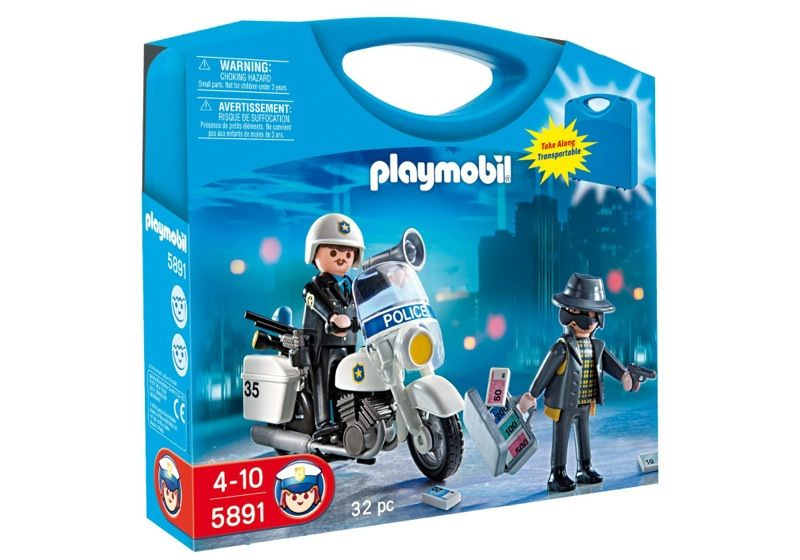 Playmobil 5891-usa - Carrying Case Police - Box