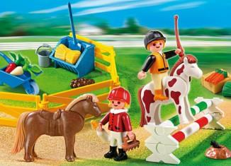 Playmobil - 5893 - Carrying Case Pony Farm
