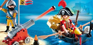 Playmobil - 5894-usa - Valisette pirate et soldat