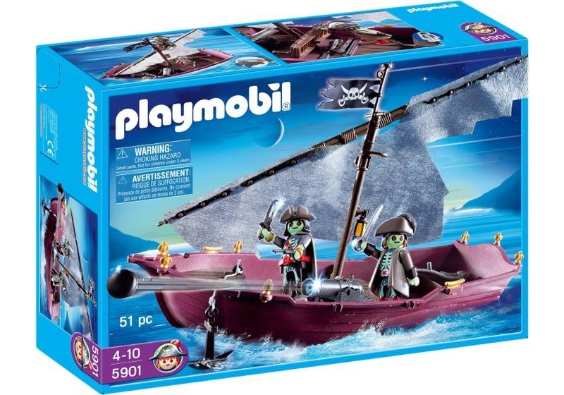 Playmobil 5901 - Ghost Pirate Ship - Box