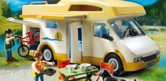 Playmobil - 5928v1-usa - Camper