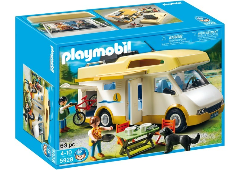 Playmobil 5928v1-usa - Camper - Box