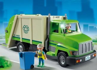 Playmobil - 5938-usa - Camion poubelle