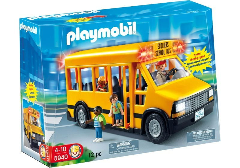 Playmobil Set 5940 Usa School Bus Klickypedia