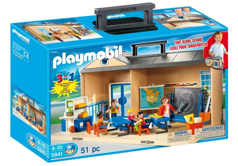 playmobil set 5941 usa take along school klickypedia. Black Bedroom Furniture Sets. Home Design Ideas
