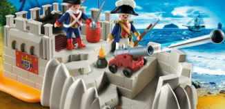 Playmobil - 5949-usa - soldiers bastion