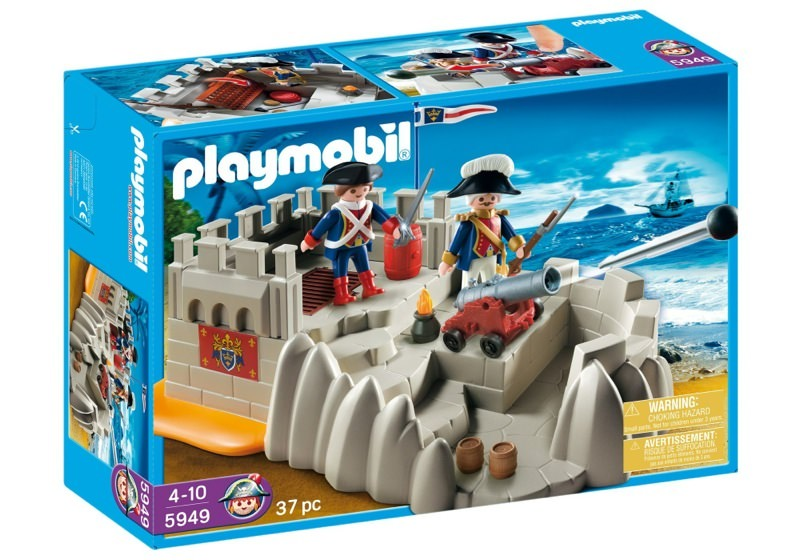 Playmobil 5949-usa - soldiers bastion - Box