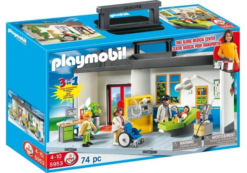 Playmobil 5953 - Take-Along Hospital - Box