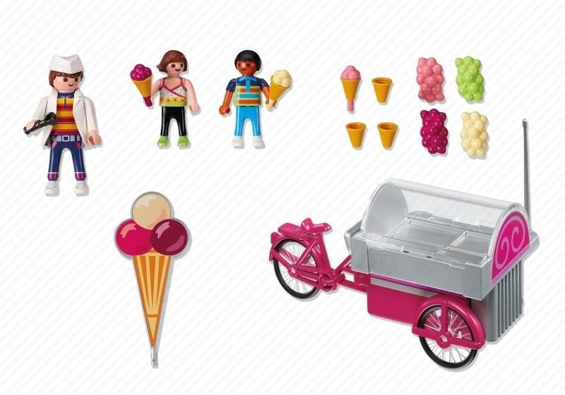 Playmobil 5962 - Ice Cream Cart - Back