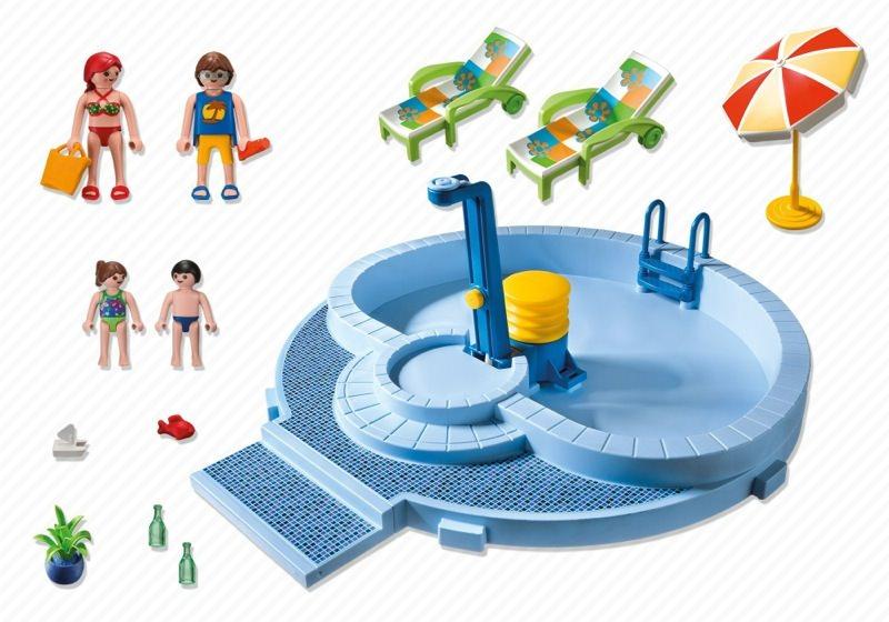 Playmobil 5964 - Pool - Back