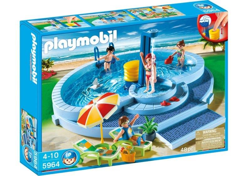 Playmobil 5964 - Pool - Box