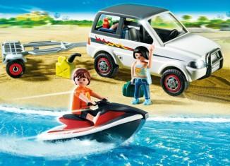 Playmobil - 5965 - Family SUV with jet-ski