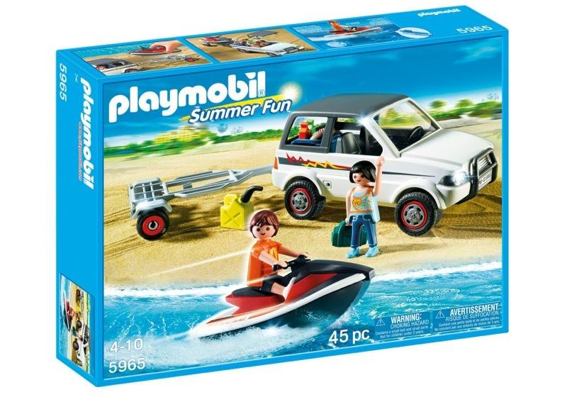 Playmobil 5965 - Family SUV with jet-ski - Box