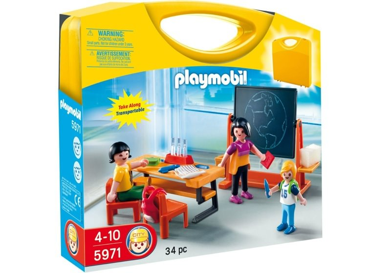 Playmobil 5971 - Carrying Case School - Box