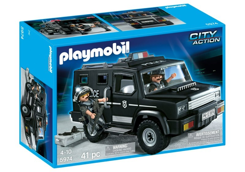 Playmobil 5974 - Tactical Unit Car - Box