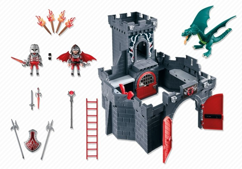 Playmobil 5979 - Dragon Knights' Castle - Back