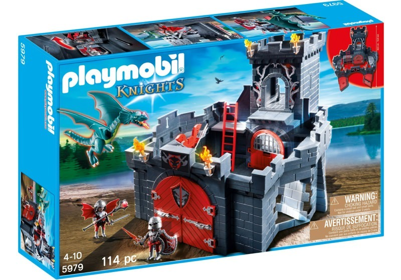 Playmobil 5979 - Dragon Knights' Castle - Box
