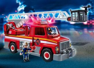 Playmobil - 5980-usa - Rescue Ladder Unit