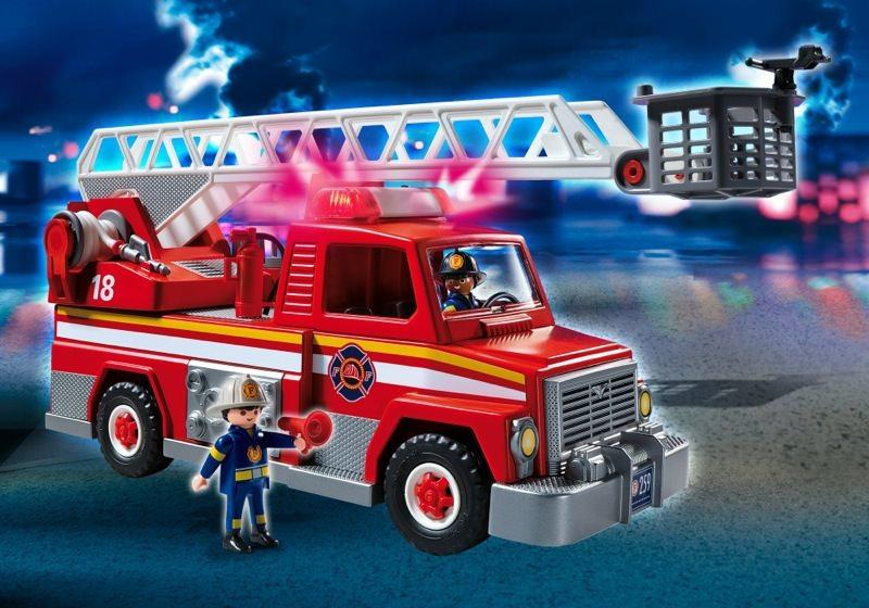 Playmobil Set 5980 Usa Rescue Ladder Unit Klickypedia