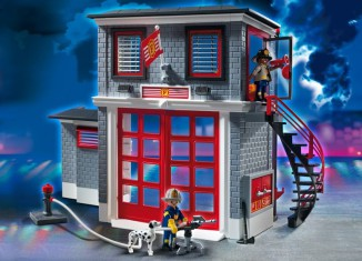 Playmobil - 5981-usa - Fire Station