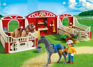 Playmobil - 5983-usa - Country Pony Stable