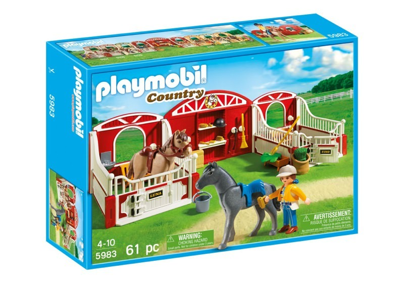Playmobil 5983-usa - Country Pony Stable - Box