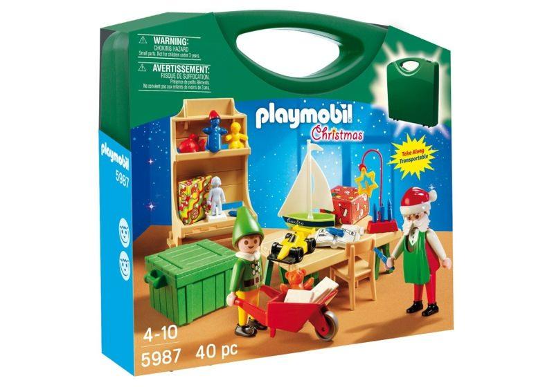 Playmobil 5987 - Santa's Workshop - Box