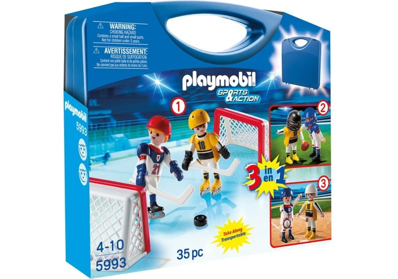 Playmobil 5993 - Carrying Case Sports - Box