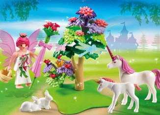 Playmobil - 5995 - Carrying Case Fairy and Unicorns