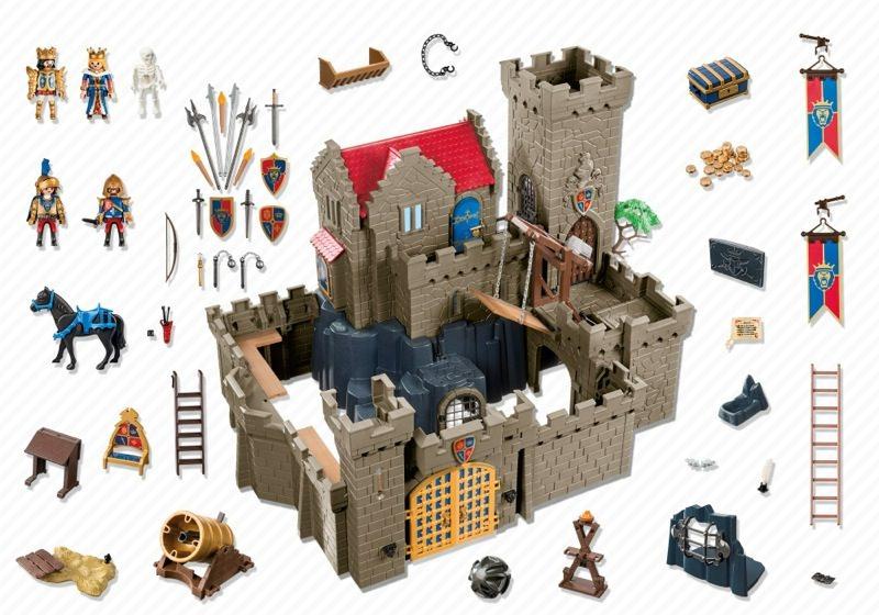 Playmobil 6000 - Royal Lion Knight`s Castle - Back