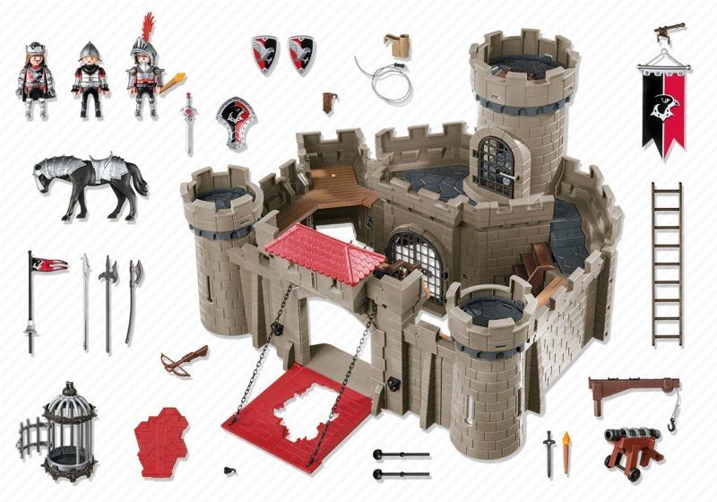 Playmobil 6001 - Hawk Knights' Castle - Back