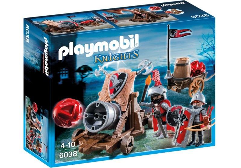 Playmobil 6038 - Hawk Knights` Battle Cannon - Box