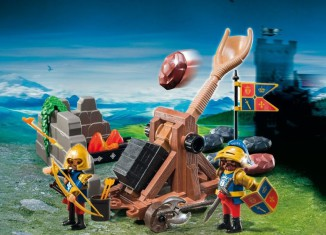 Playmobil - 6039 - Royal Lion Knights` Catapult