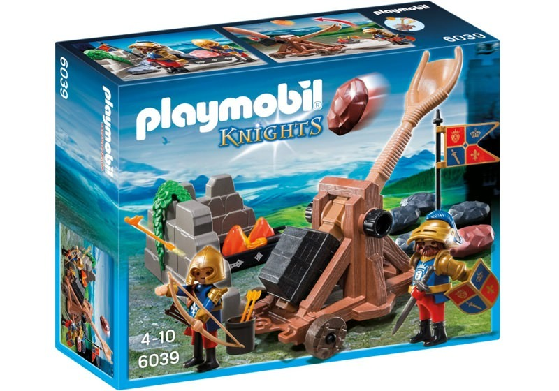 Playmobil 6039 - Royal Lion Knights` Catapult - Box