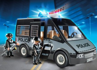 Playmobil - 6043 - Police van with lights and sound