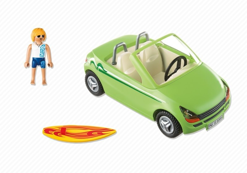 Playmobil 6069 - Surf-Roadster - Back