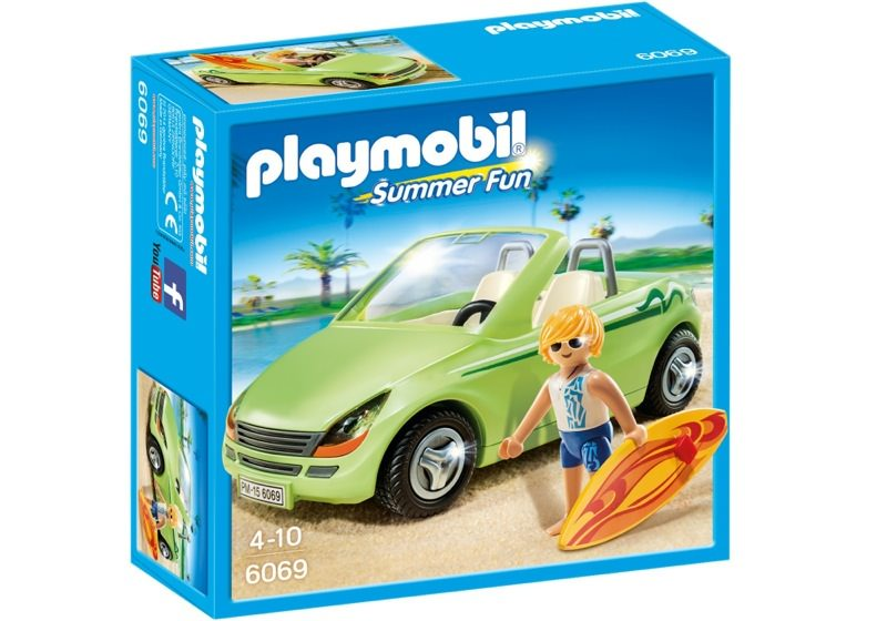 Playmobil 6069 - Surf-Roadster - Box