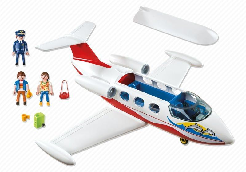 Playmobil 6081 - Avión de vacaciones - Volver