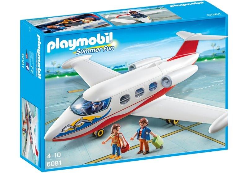 Playmobil 6081 - Avión de vacaciones - Caja