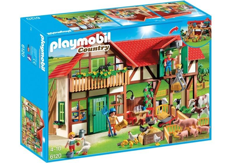Playmobil 6120 - Farm - Box