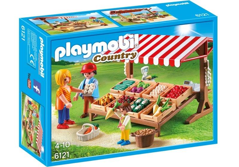 Playmobil 6121 - Farmer's Market - Box