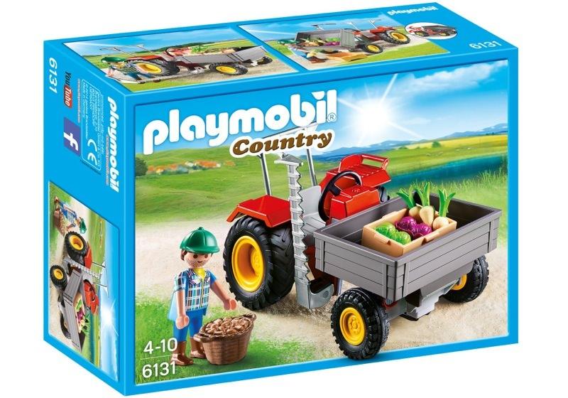 Playmobil 6131 - Ladetraktor - Box