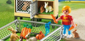 Playmobil - 6140 - Rabbit Pen with Hutch
