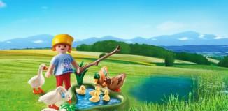 Playmobil - 6141 - Enten und Gänse am Teich