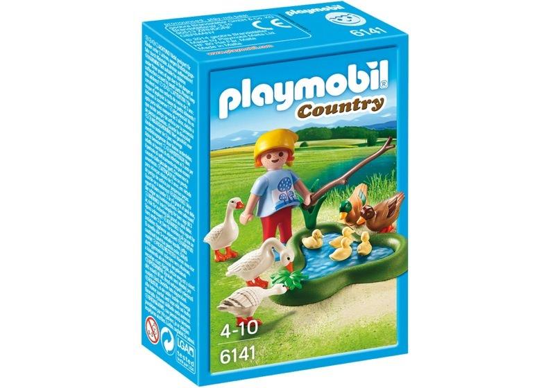 Playmobil 6141 - Enten und Gänse am Teich - Box